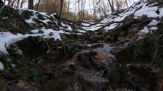 2021 Winter snow melt