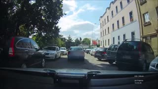 Police Pursuit After A Stolen Vehicle Ends In Crash - Video