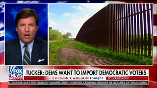 Tucker Carlson Hits Trump for Immigration Meeting: 'What Was the Point of Running for President?' - Video
