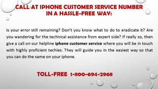 Toll-Free 1-800-694-2968 How To Fix  iPhone Error Code 3194? - Video