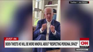 Joe Biden's statement on personal space