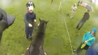 Ride the Rolex cross-country course with Elisa Wallace - Video