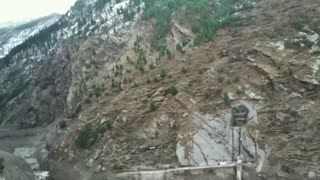 Over 100 feared dead after Himalayan glacier bursts