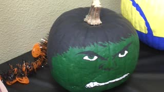 Halloween Pumpkin decorating contest, pick your favorite!