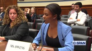 Candace Owens slams Democrats for farce hearing