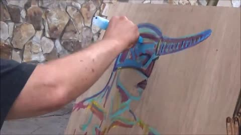Time Lapse Painting 7 Carl Quintiliani 3d Fantasy Street Art Master