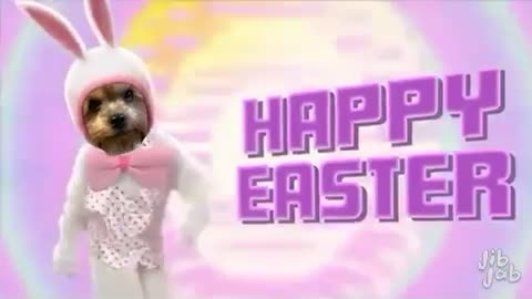 Happy Easter from our pets!