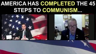 America Has Completed the 45 Steps to Communism