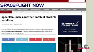 SpaceX launches 60 new Starlink internet satellites