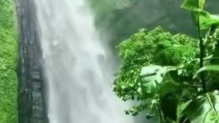 Awesome waterfall 🌊🌊❤️❤️