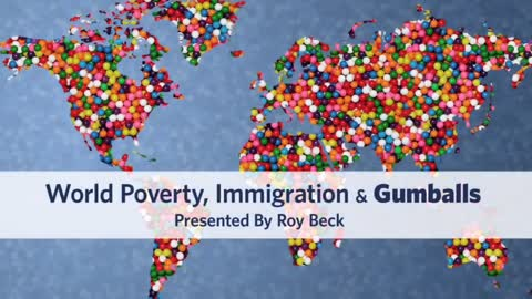 Immigration explained with gumballs