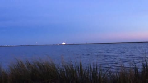 Antares Rocket Explosion from 2 miles away