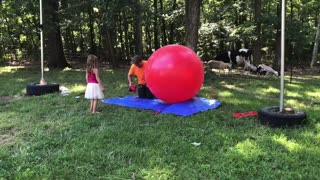 What happens when you overfill a ballon?