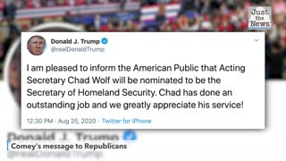Trump to nominate Chad Wolf as secretary of Homeland Security