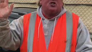 Presidential Impersonator Oversees Construction Project