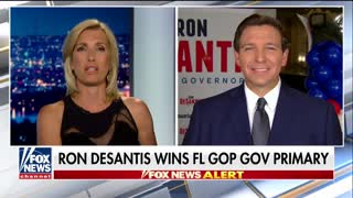 Ron DeSantis speaks out about Florida primary victory