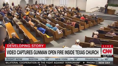 CNN Airs Church Shooting