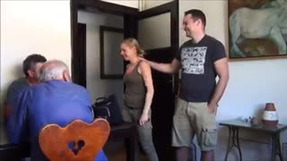 Woman bursts into tears for birthday surprise - Video