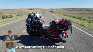 When You Ride a Harley Into Nowhere!