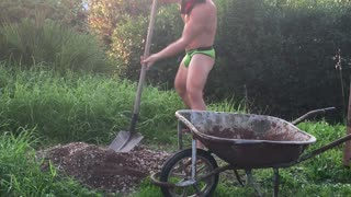 Crazy Witcho Cuts The Grass - Video