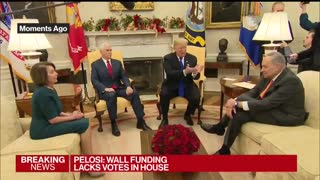 Schumer Shows Fear During Tense Exchange — Let's Debate In Private