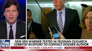 'Better Be a Legitimate Reason': Carlson Rips Obama, Mark Warner Over Trump Spying - Video