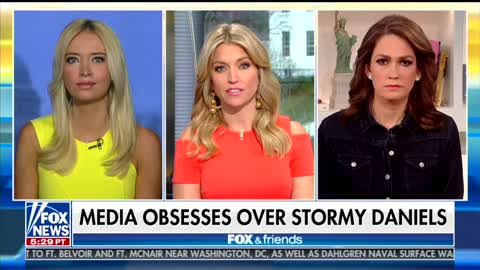 Fox & Friends Panel Spars Over Stormy Daniels Claims: Media Trying to 'Distract and Destroy' Trump