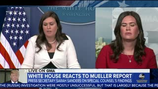 Sarah Sanders answers about her comments on FBI agents