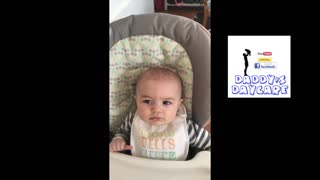 Baby boy really hates 90's pop music - Video