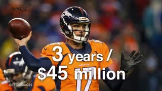 Denver Broncos' Brock Osweiler Atttacked, Refuses to Fight Back - Video
