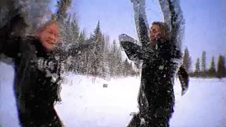 Arctic Snow Fun - Bam and gang - Video