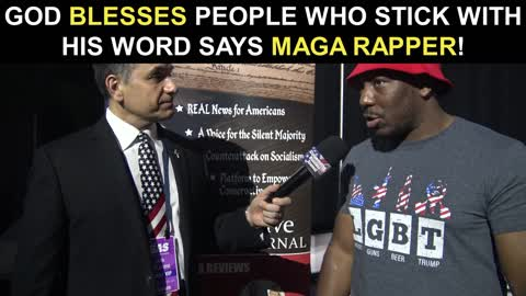 God Blesses People Who Stick With His Word Says MAGA Rapper