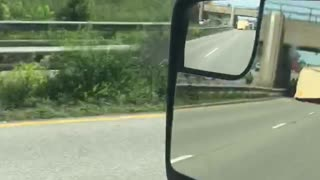 Man Witnesses Aftermath of Crash - Video