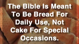 Daily Bread - Video