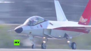 RT Japan X 2 Stealth Fighter First Flight 1080p - Video