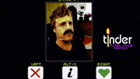 How Tinder would have looked like in the 1980s