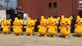 Pikachu event 2015 in Minatomirai - Video