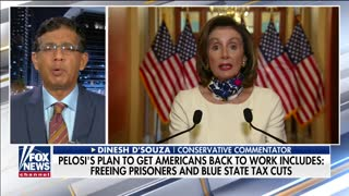 Dinesh D'Souza discusses new stimulus bill from House Democrats
