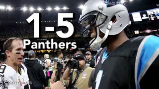 Cam Newton Punked By Saints Fan - Video