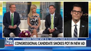 Congressional candidate smokes pot in new ad - Video