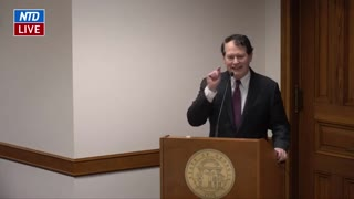 Ray Smith Gives Statement During Georgia Senate Hearing on Election Issues