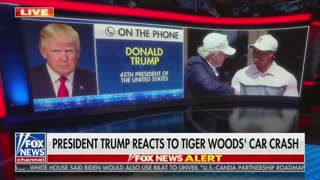 Donald Trump on Tiger Woods