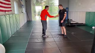 Russian Systema style knife defense
