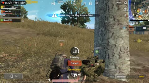 Rescuing Team Members In Fight Pubg Mobile