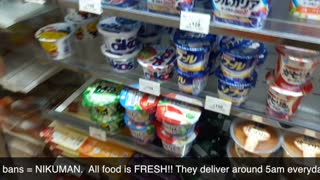 Japanese Seven Eleven in Japan has more variety of really good meals  - Video