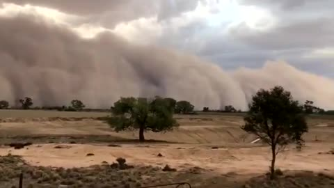Drought in Australia results in this epic dust storm