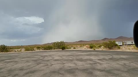 Thunderstorm with Intense Downdraft