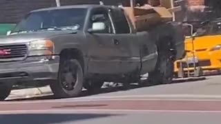 Truck Took on More Than it Could Carry