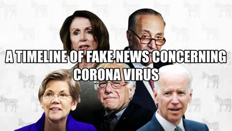 a timeline of fake news concerning corona virus Liberal Leaders dont want you to see.