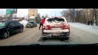 Rough and Tumble Rumble on Slippery Street